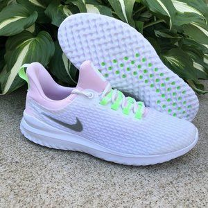 NEW Nike Renew Rival GS Running Shoes White Pink